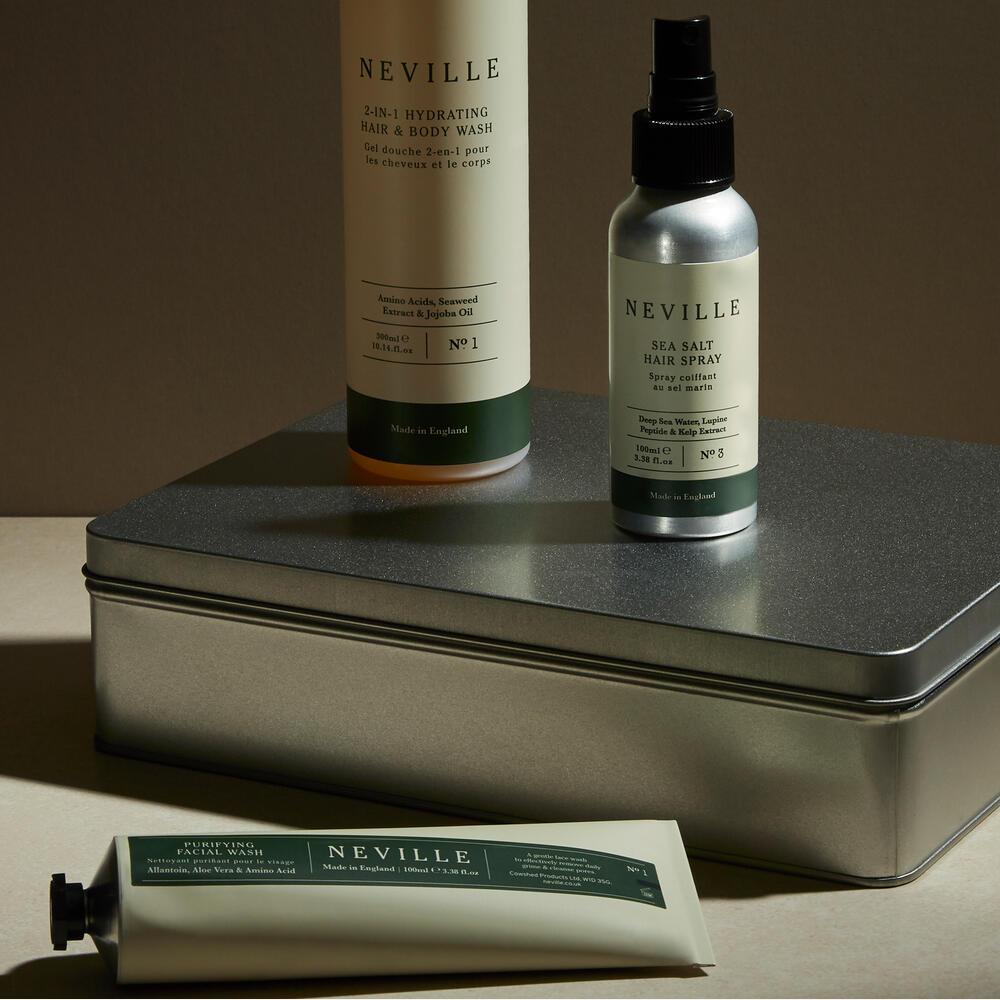 Neville Head-to-Toe Grooming Kit