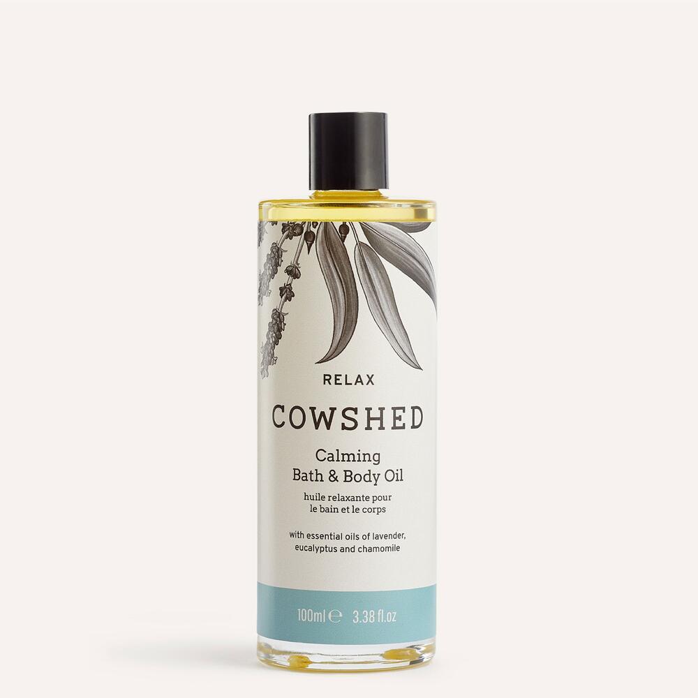 Relax Bath & Body Oil