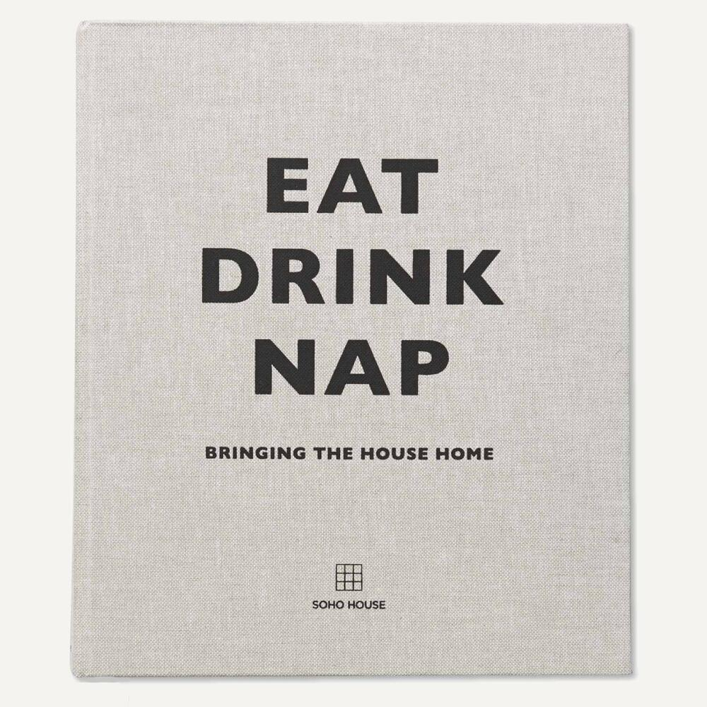 Eat, Drink, Nap Book