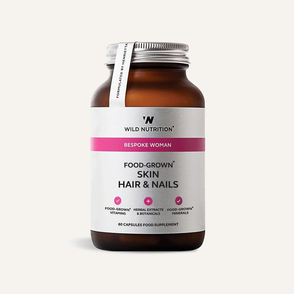 Wild Nutrition Food-Grown Skin Hair & Nails